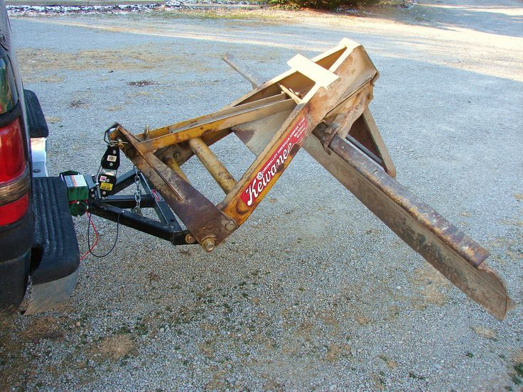homemade rear snow plow! - PlowSite.com™ - Snow Plowing & Ice Management Forum