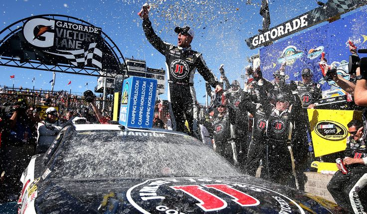 NASCAR's Kevin Harvick wins again in Sprint Cup race in Phoenix  Kevin Harvick extended his remarkable run in the Arizona desert with a dominant win Sunday in the NASCAR Sprint Cup Series race at Phoenix International Raceway.  http://www.latimes.com/sports/sportsnow/la-sp-sn-nascar-phoenix-harvick-20150315-story.html