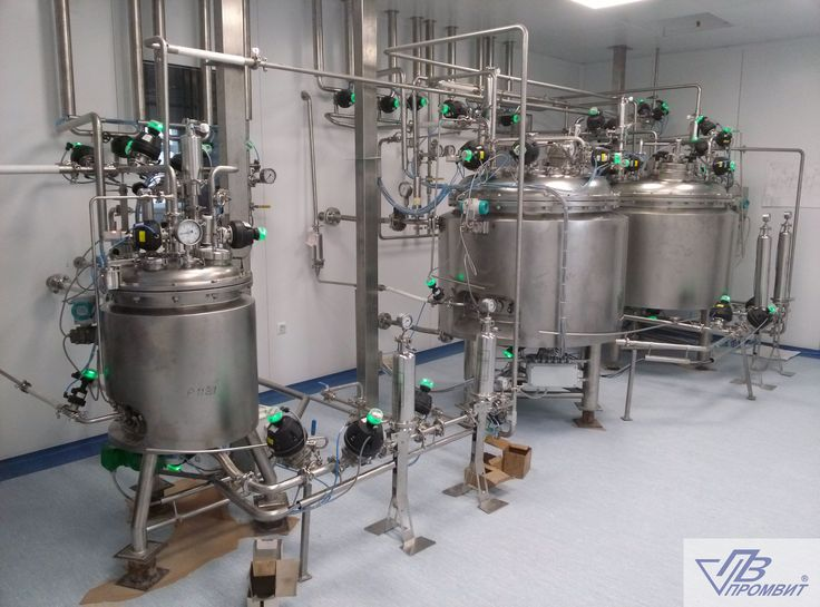 Изготовление емкостного оборудования из н/ж сталей марок AISI 304, 321 и 316L.