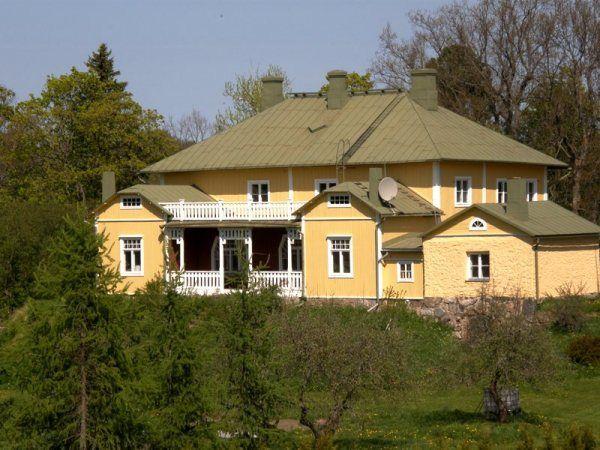Gullö Gård, my summer residence in Finland .