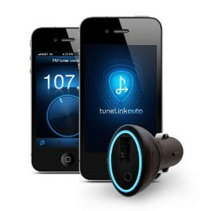 New Potato Technologies TuneLink Auto Bluetooth in Car Stereo Wireless Adapter for iPhone, iPod Touch, iPad - (Black) - 1001-01002       http://www.amazon.com/dp/B004GJURHM/?tag=pin2pin-20