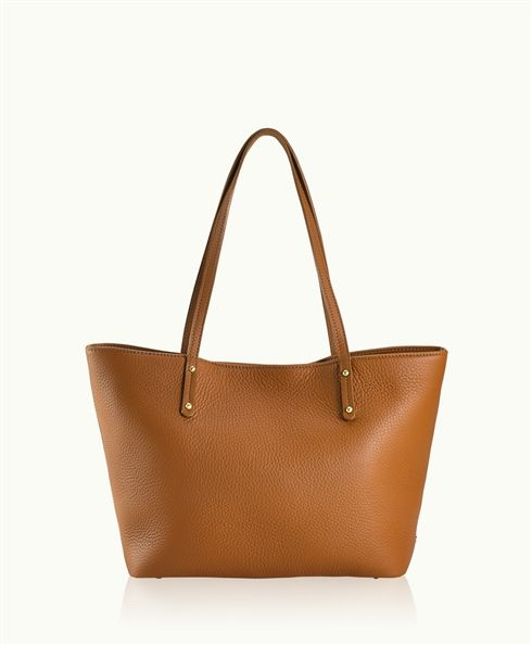 The elegant shape and style of the Taylor Tote in a smaller size. This tote is suited for everyday use or travel.