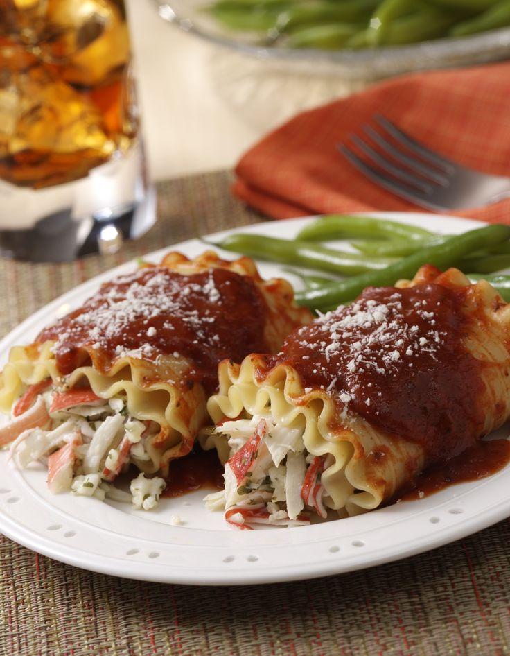 Italian Seafood Lasagna