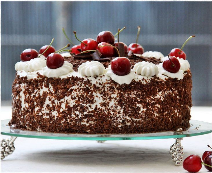 This is a cake to love and to celebrate. The linked recipe uses canned cherries, but take this to excellence by using fresh dark Bing cherries. You can make this with canned cherries the rest of th…