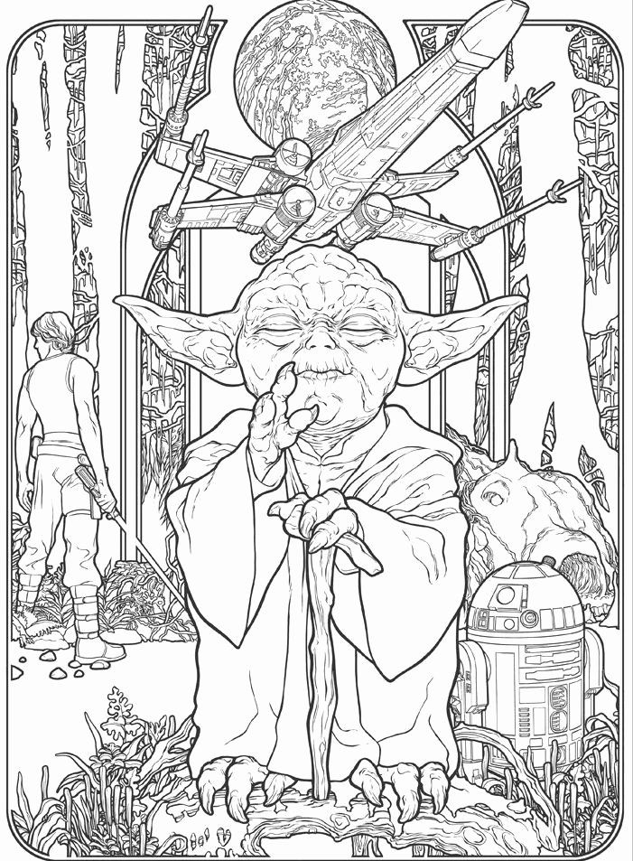 Star Wars Coloring Book For Adults