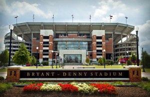Bryant - Denny Stadium on the campus of The University of Alabama http://career.ua.edu
