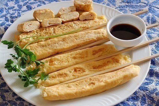 Japanese omelette