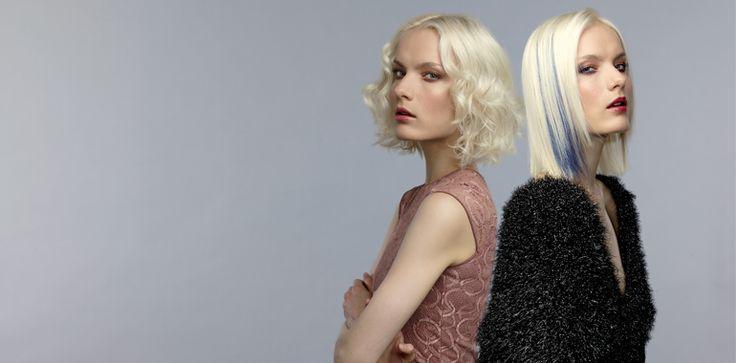 Collezione Alter Ego di Evos, capelli platino