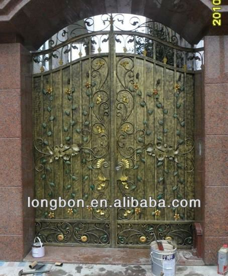 2017 Top Selling Newest House Iron Gate Design   Buy House Iron Gate Design,Sliding  Gate Designs For Homes,House Steel Gate Design Product On Alibaba.com Part 88
