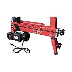 ALEKO LOGS5T Powerful 5 Ton Electric Hydraulic Portable Log Cutter Wood Splitter