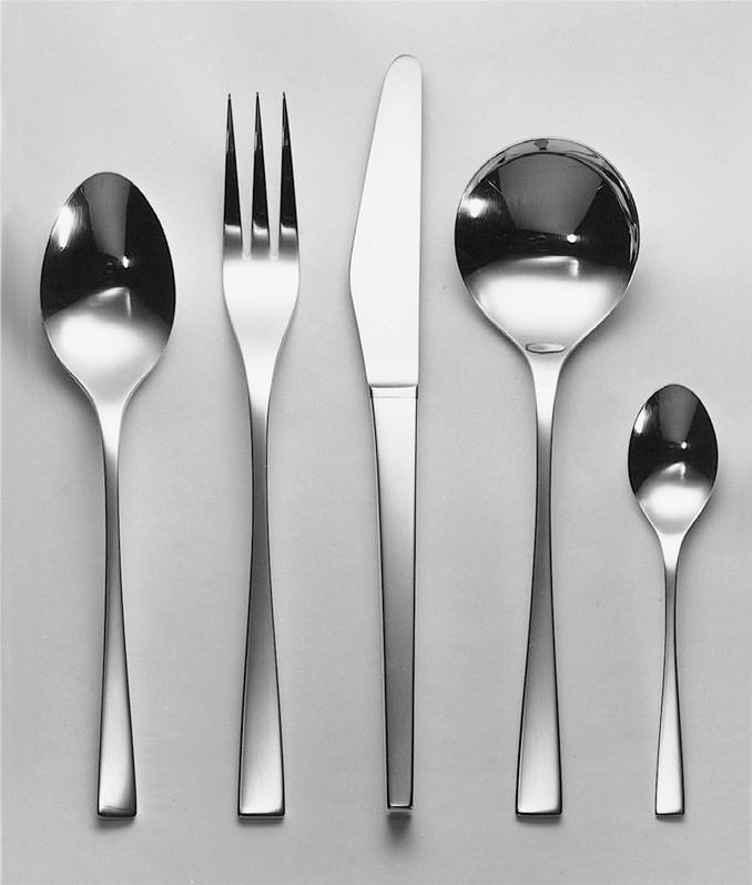 David Mellor Hand forged 'Embassy' sterling silver cutlery. 1963 British Embassies. #silver #cutlery #design