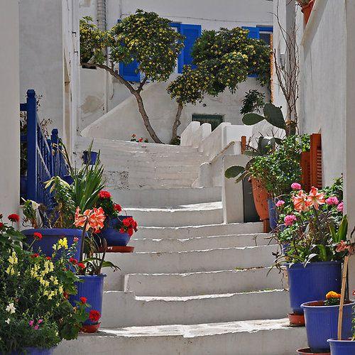 Stairway, Naxos