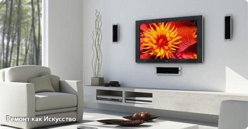 КАК ПРАВИЛЬНО РАСПОЛОЖИТЬ ТЕЛЕВИЗОР НА СТЕНЕ: 6 ПРАВИЛ  1. В какой части комнаты расположить телевизор  Расположение телевизора диктует расстановка мебели в комнате. Прежде всего определитесь с тем, с какой именно точки комнаты (или нескольких) вы будете его смотреть. Это может быть диван, обеденный стол, рабочая зона кухни — но возможны и другие варианты.  Особенно важным моментом при определении места расположения телевизора должно стать окно. Если экран будет находиться на противоположной…