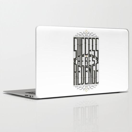 Success&Revenge #1 Laptop & iPad Skin
