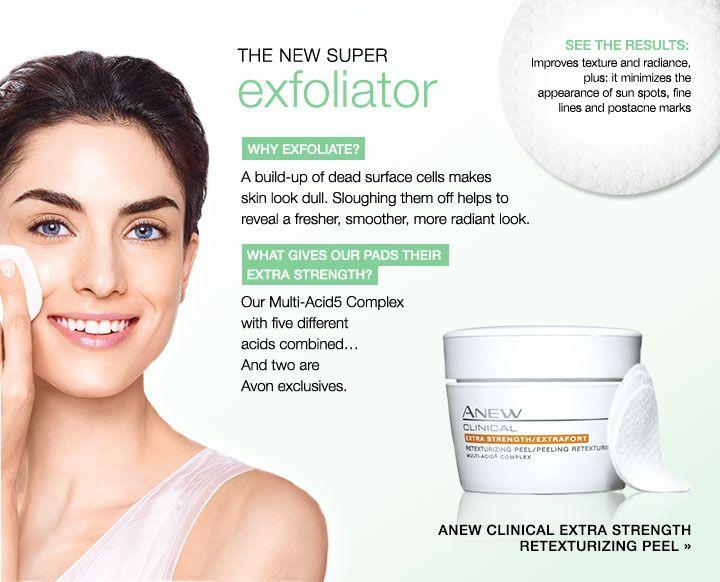 Like avon clinical 2 step facial peel