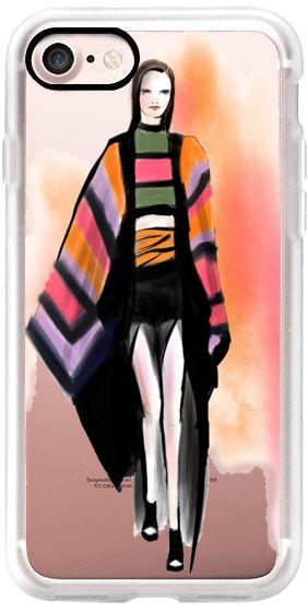 Casetify iPhone 7 Classic Grip Case - Balmain Stripes by Stephanie Anne #Casetify