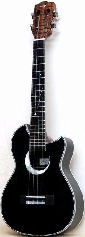 T's Custom Tenor Ukulele --- https://www.pinterest.com/lardyfatboy/ ~