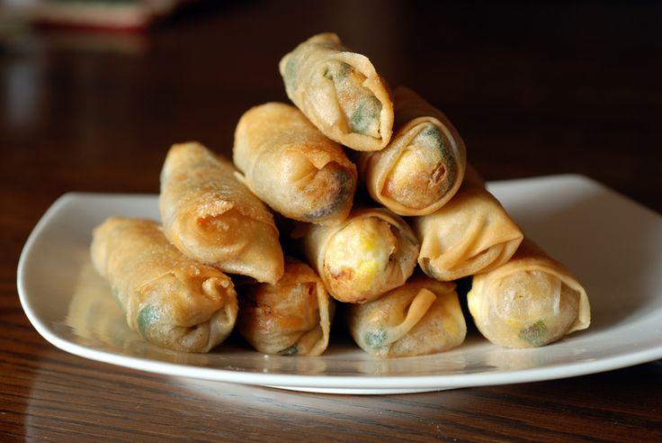vegetarian japanese spring rolls