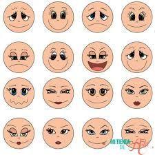 Resultado de imagem para descargar plantillas ojos fofuchas