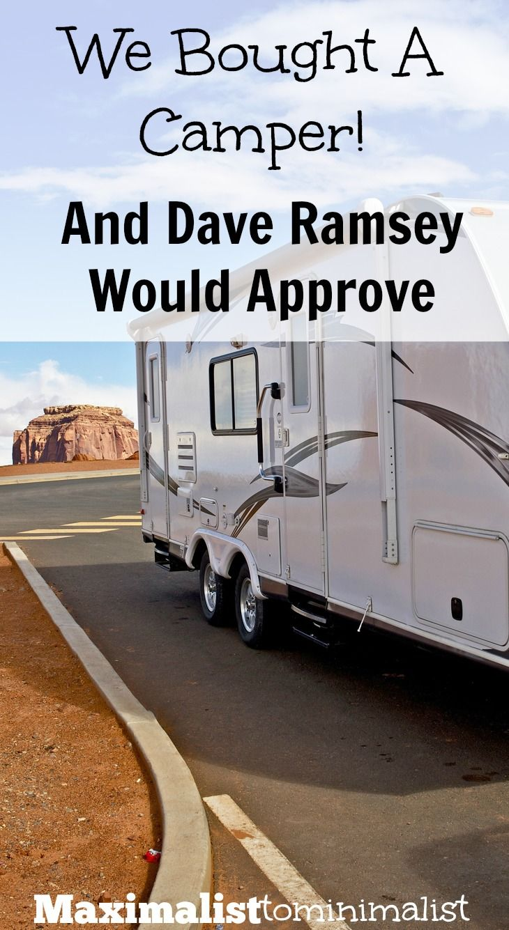 SO excited about our new 5th wheel travel trailer!!! Can't wait to hit the road in a few weeks! Dave Ramsey would approve this purchase because God allowed us to pay cash!