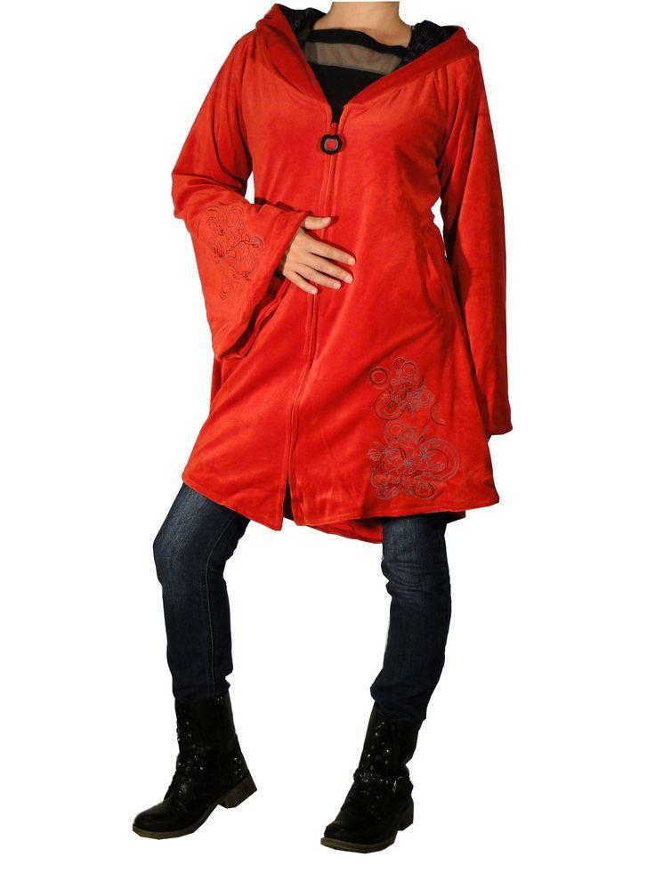 veste ethnique chic sur http://www.echoppe-du-monde.com/veste-ethnique-ananta-rouge-swamee-c2x14582345 Découvrez notre collection de vêtements ethniques chics sur notre e-boutique.