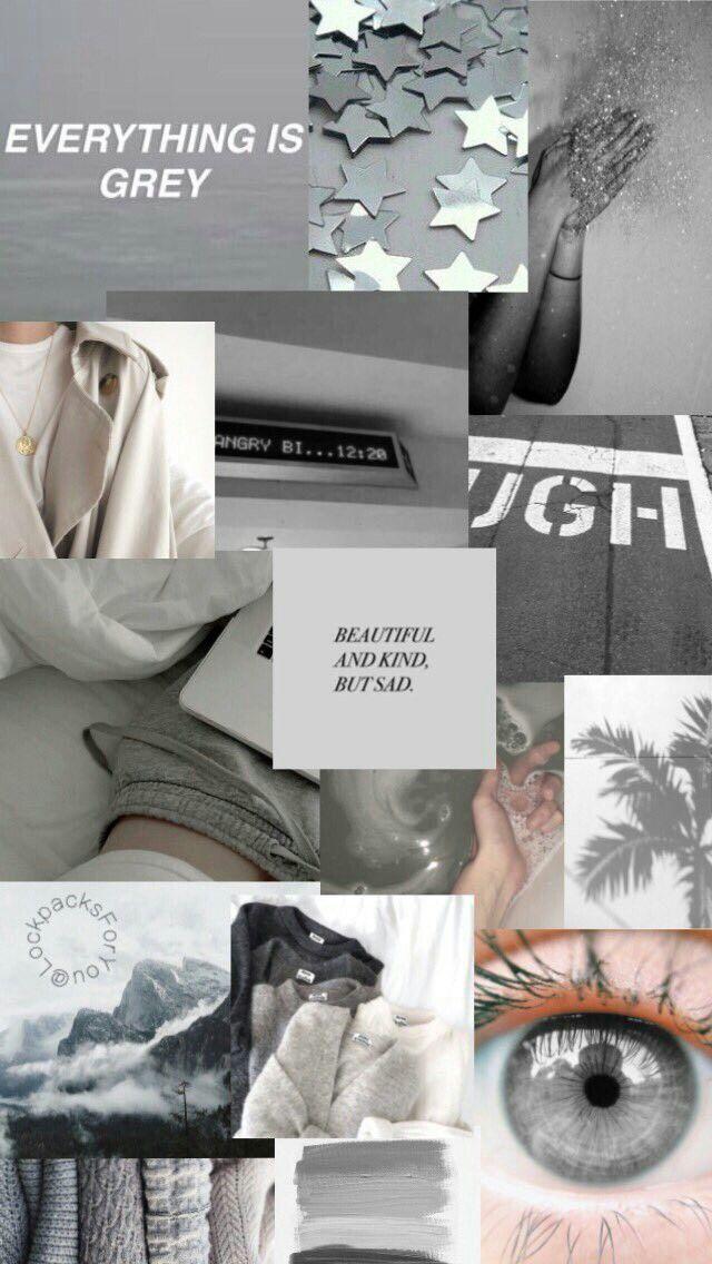 Iphone Aesthetic Moodboard Wallpaper - Ala Model Kini