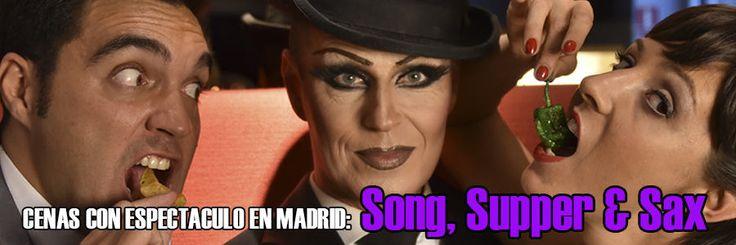 cenas con espectaculo en Madrid: Song, Supper & Sax