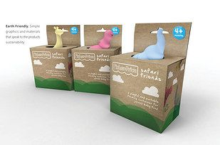 These friendly baby-food holders. | 34 Aggressively Cute Packaging Ideas You Need To See