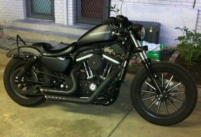 Harley Davidson  nightster. Black