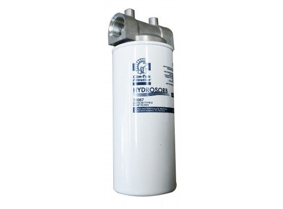 """1"""" BSP head Hydrasorb Cimtek water and sediment absorption filter assembly.30 micron."""