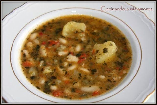 Good Mythical Morning In Spanish : Cocinando a mis amores potaje de alubias cocidas