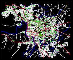 Resultado de imagen para mapa de santiago de los caballeros rep dom con sus estaciones de autobuses