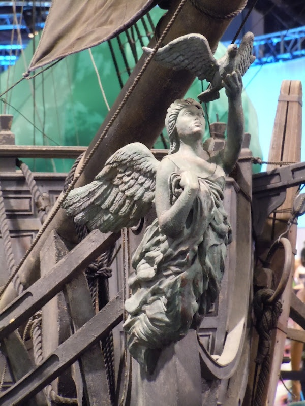 Image detail for -Black Pearl pirate ship figurehead