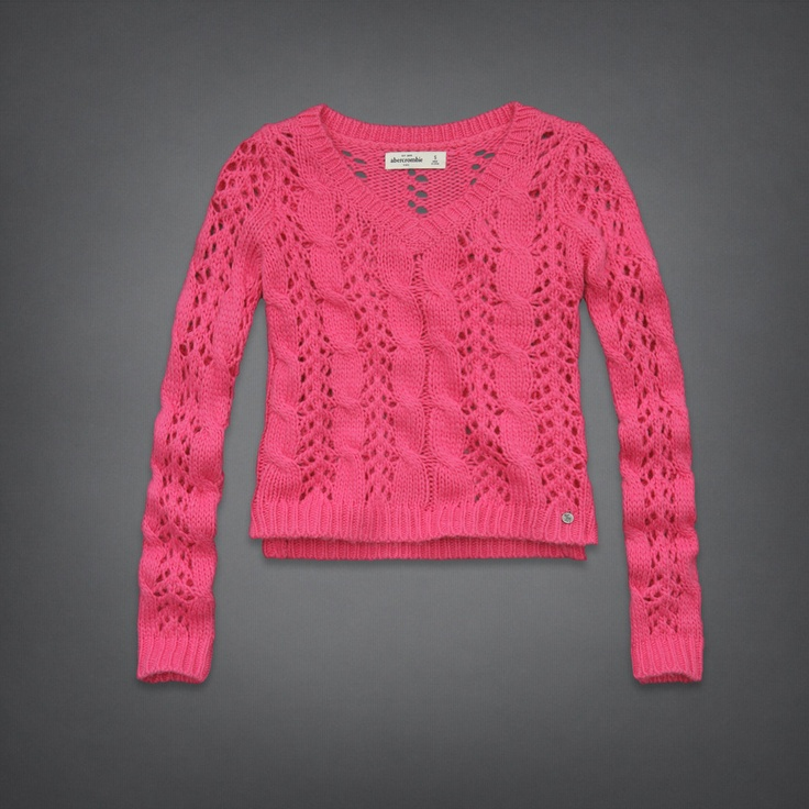 Girls sweaters from Hollister come in so many amazing styles, all with some serious SoCal vibes. Cowl necks, v necks, cable knits and cardigans. Sweaters are the go to must-have layers for every girl.