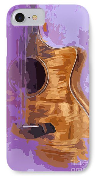 Guitarra Acustica 1 Phone Case by Pablo Franchi