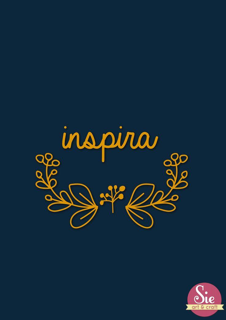 Por esas cosas que nos inspiran... por lo que logramos inspirar!