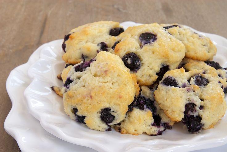 Blueberry Shortcake Cookies ~ http://www.bakeorbreak.com