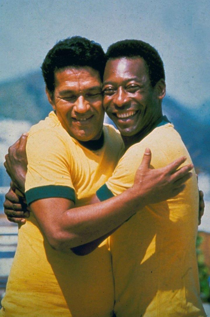Garrincha and Pelé