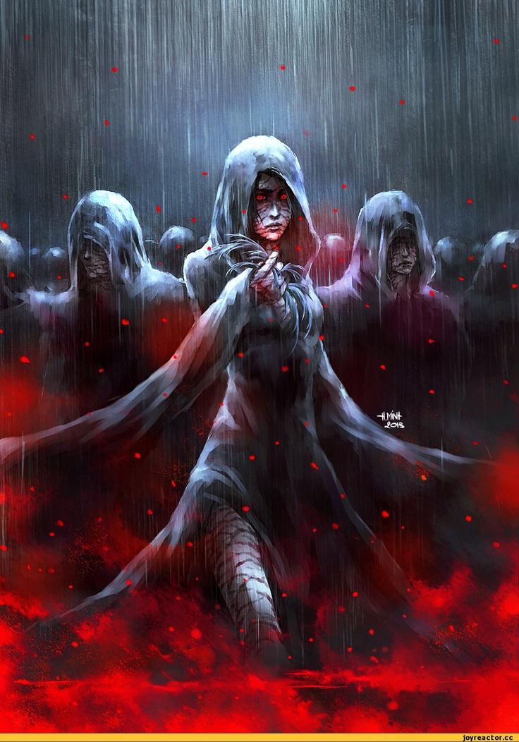 Кровь в картинках фэнтези