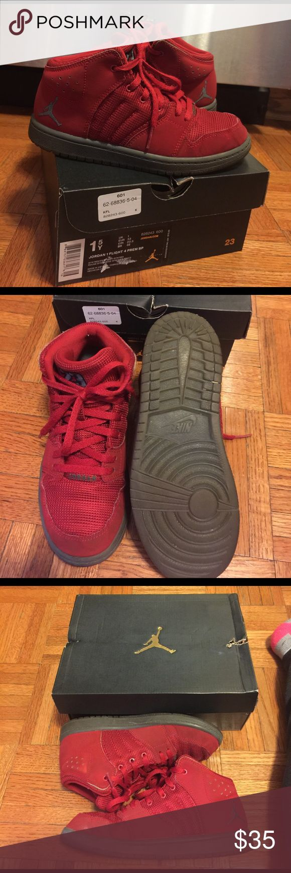 Kids Michael Jordan In good condition Michael Jordan shoes for kids from footlocker with box. Nike Shoes Sneakers