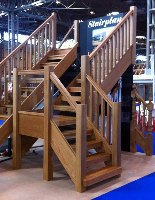 Oak Townsend staircases design