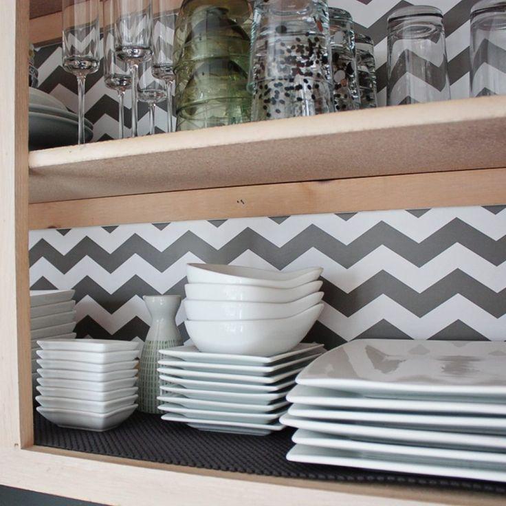 Kitchen Shelf Lining: Best 25+ Cabinet Liner Ideas On Pinterest