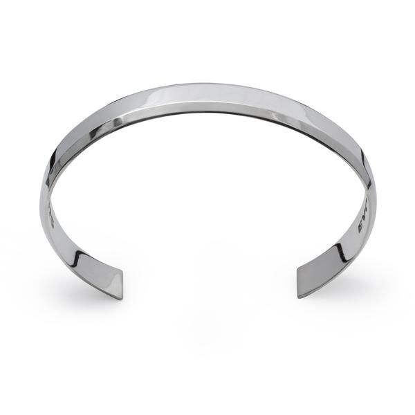Description The Uni-Bracelet features clean modern lines and hand polished surfaces that perfectly fit 21st century fashion trends for Men and Women projecting a bold and elegant look. Uni-Sex A Modern Urban design bracelet for Men and Women. Size : One Size - Medium Most of our Bracelets are one size fits all and are adjustable since they are made of pure sterling silver. Weight : 28 Grams Width : 11 MM Design The Uni-Bracelet is drawn to perfection to match any outfit, occasion or personal…
