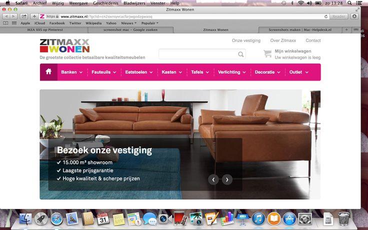 Zitmaxx is een woonwinkel met alles voor in huis net als Ikea alleen zijn ze in prijs iets duurder.