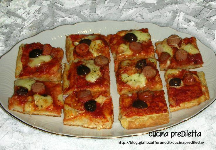 Pizza di riso - ricetta da finger food   cucina preDiletta