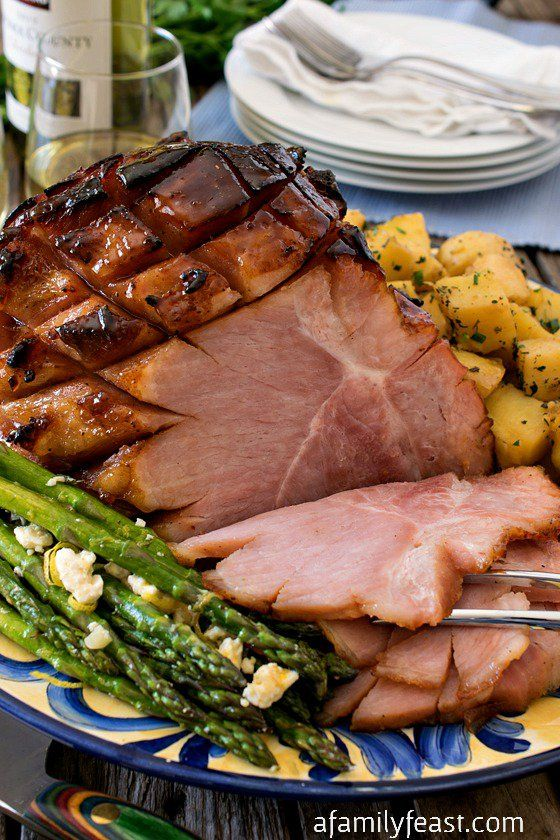 How to prepare the Perfect Holiday Ham for your next Easter or Christmas dinner. Super moist on the inside with an almost candy-like coating on the outside. Incredible!