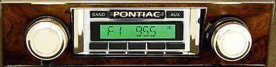 1970-1972 Pontiac GTO Lemans AM/FM radio USA-230 Ipod Aux Custom Autosound