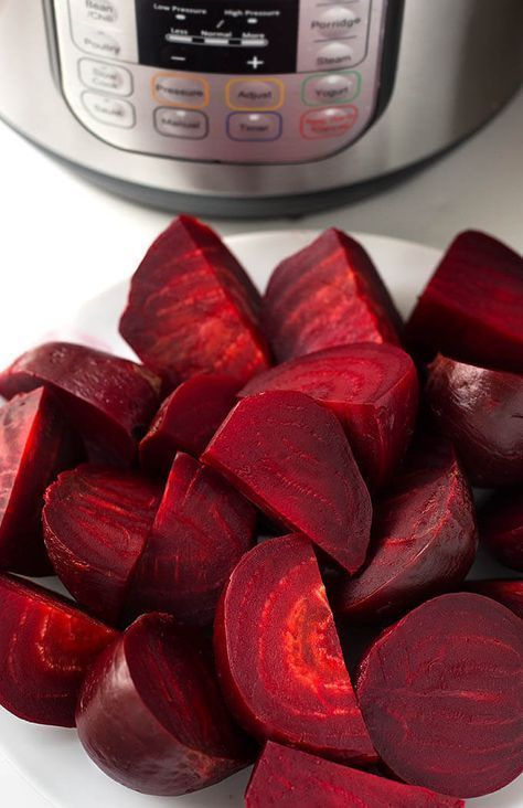 Instant Pot Beets. How to cook beets in the Instant Pot electric pressure cooker. Plus two of my favorite beet recipes!