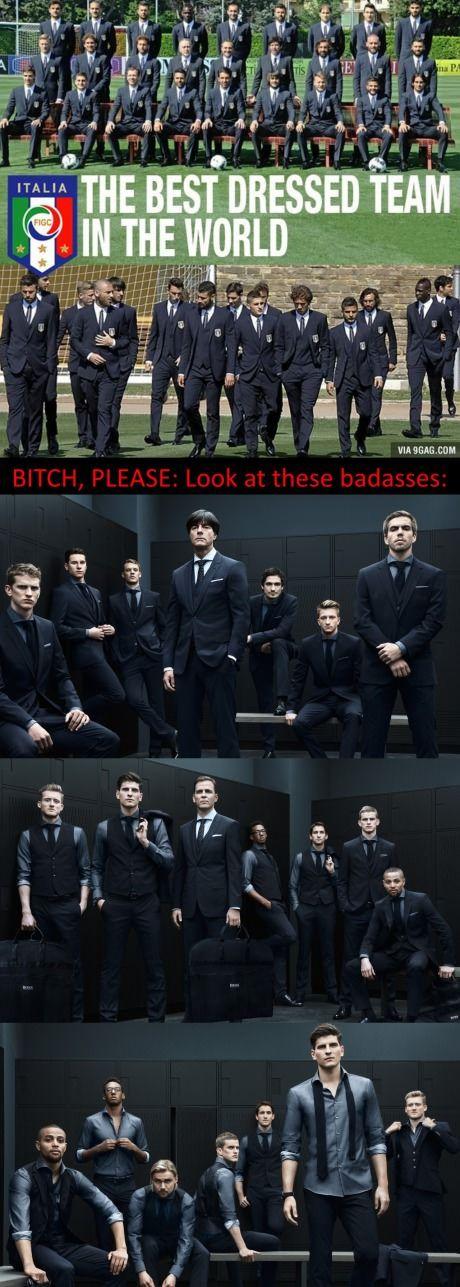 German Football Team - Dressed by Hugo Boss THAT'S WHY I LOVE FOOTBALL ♥