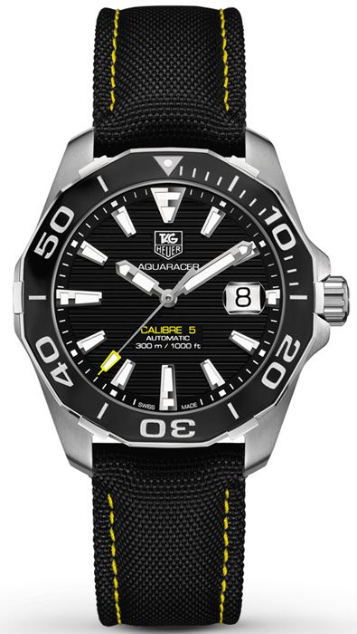 WAY211A.FC6362, WAY211AFC6362, Tag Heuer aquaracer calibre 5 watch, mens